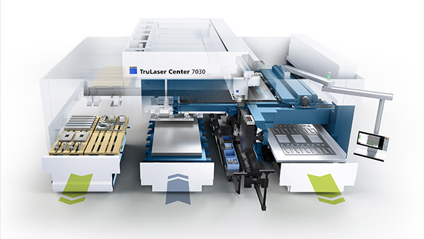 Update for Trumpf TruLaser Center 7030
