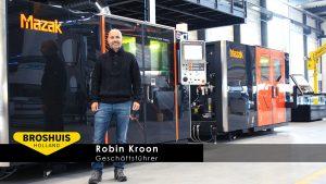 """Geschäftsführer Robin Kroon: """"WiCAM verhilft uns mit der Verknüpfung von IT und Produktionsmitteln zu maximaler Effizienz, Produktionsgeschwindigkeit und Flexibilität."""""""