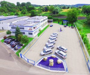 Unternehmenszentrale in Karlsruhe/Pfinztal