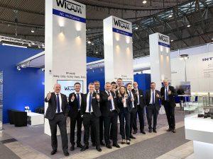WiCAM Team auf der Blechexpo 2019.