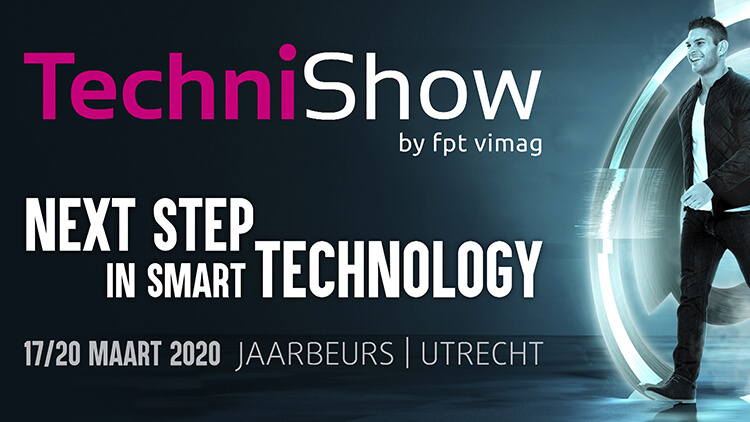 WiCAM at the TechniShow 2020 (NL)