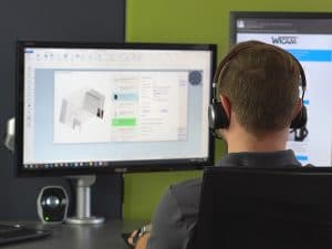 Het slim verwerken van 3D samenstellingen en plaatwerk onderdelen staat al een aantal jaren op de strategische agenda van WiCAM.