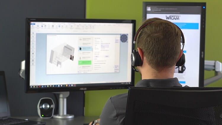 WiCAM fokussiert 3D Verarbeitung